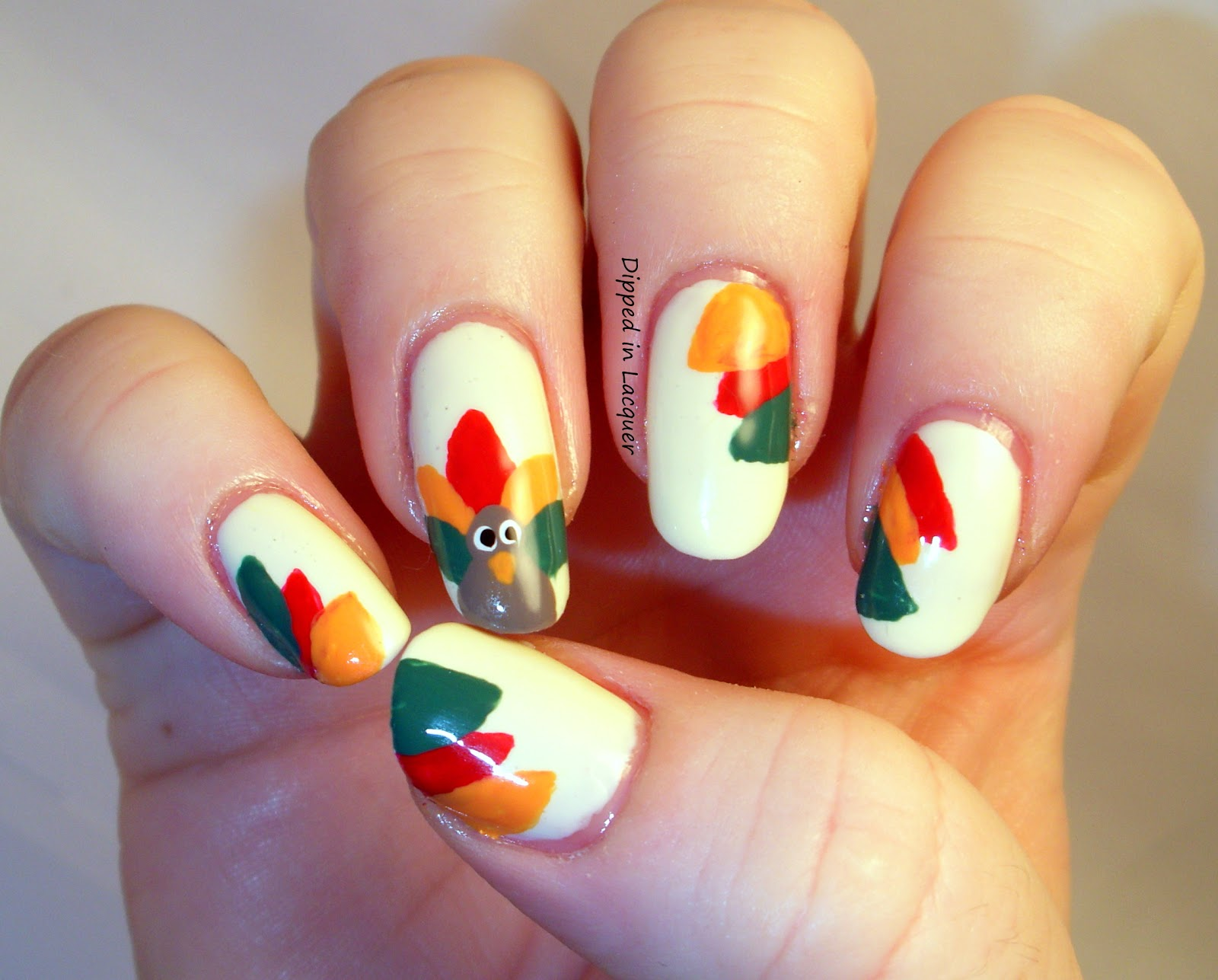 Festive thanksgiving nail designs from mane n tail fashiondivadesign prinsesfo Image collections