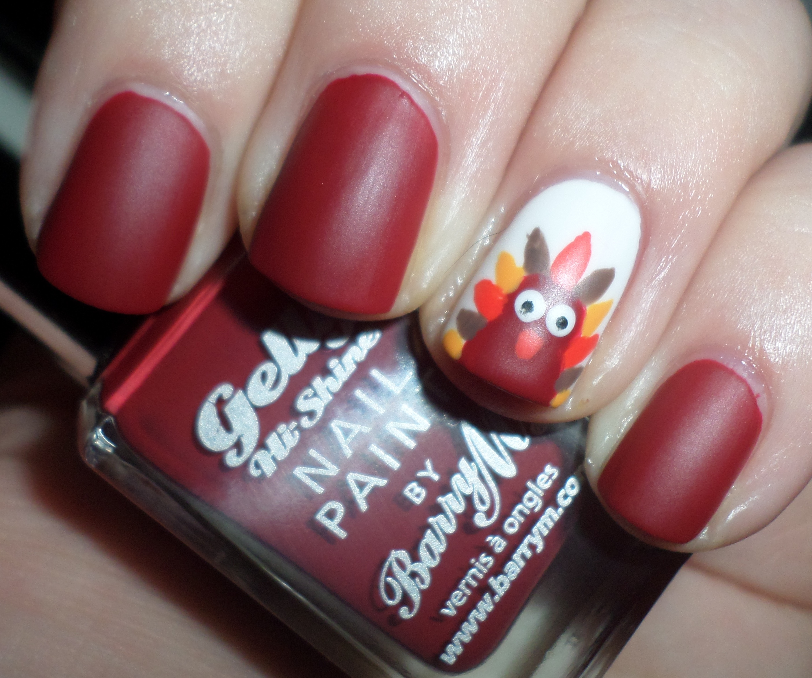Festive thanksgiving nail designs from mane n tail photo courtesy of raraeid prinsesfo Choice Image
