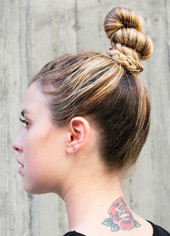 Healthy Hair & Sporting Hairstyle Tips from SportPort ...  |Athletic Hair Buns