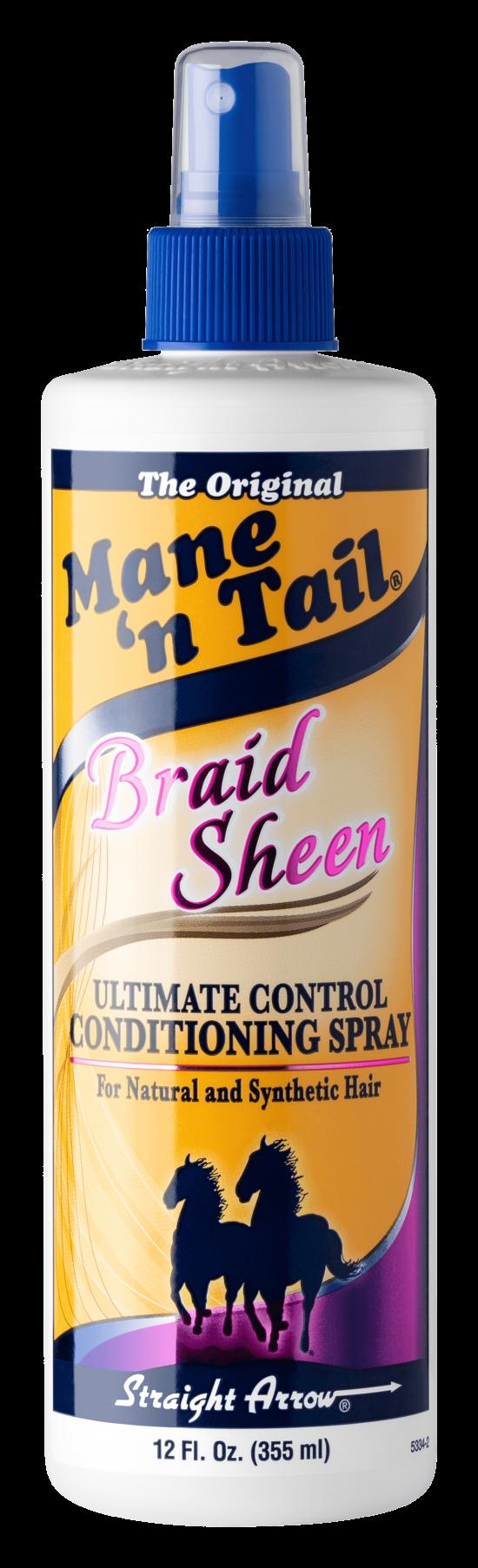Braid Sheen 12 oz spray bottle