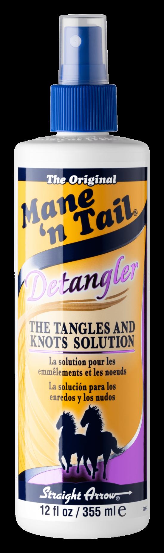 Spray Detangler for hair 12 oz bottle