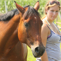 Mane 'n Tail shampoo is safe for people and horses!