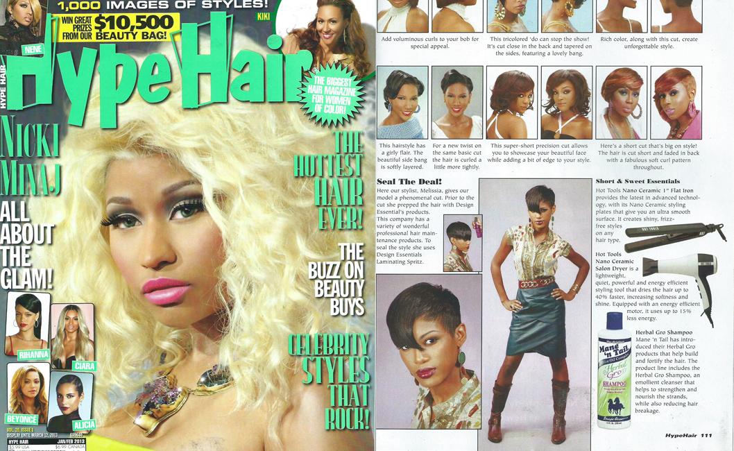 Hype Hair Editorial January 2013 | The Original Mane \'n Tail ...