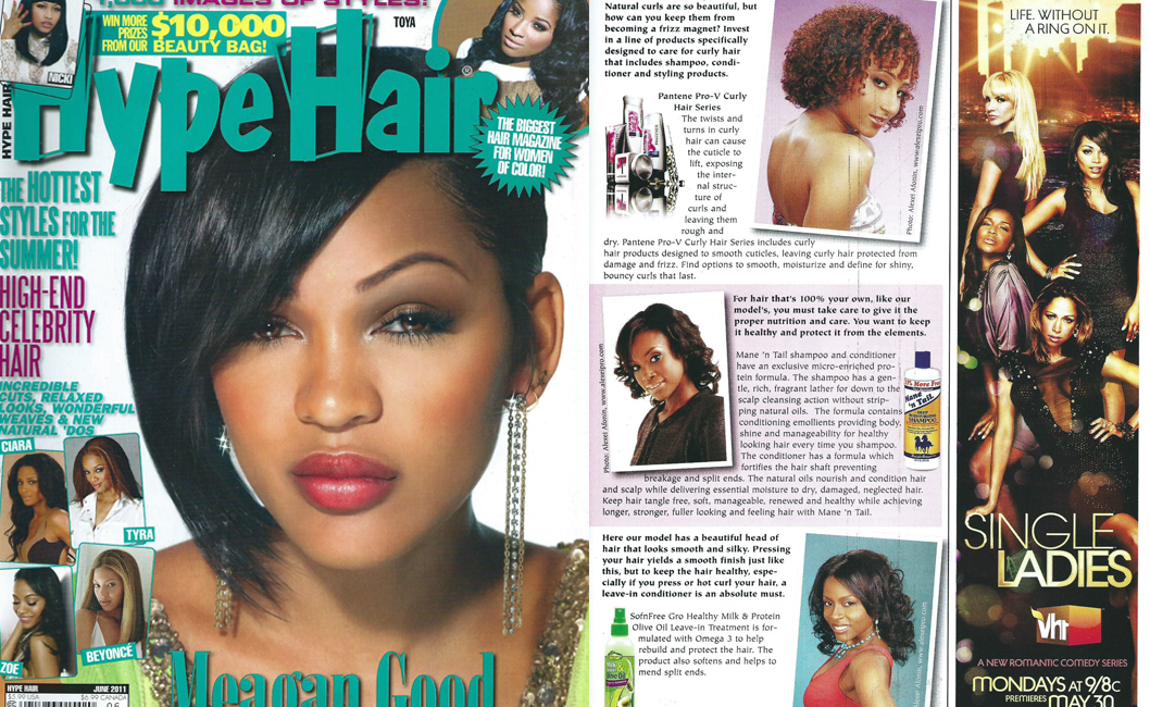 Hype Hair Editorial June 2011 | The Original Mane \'n Tail ...