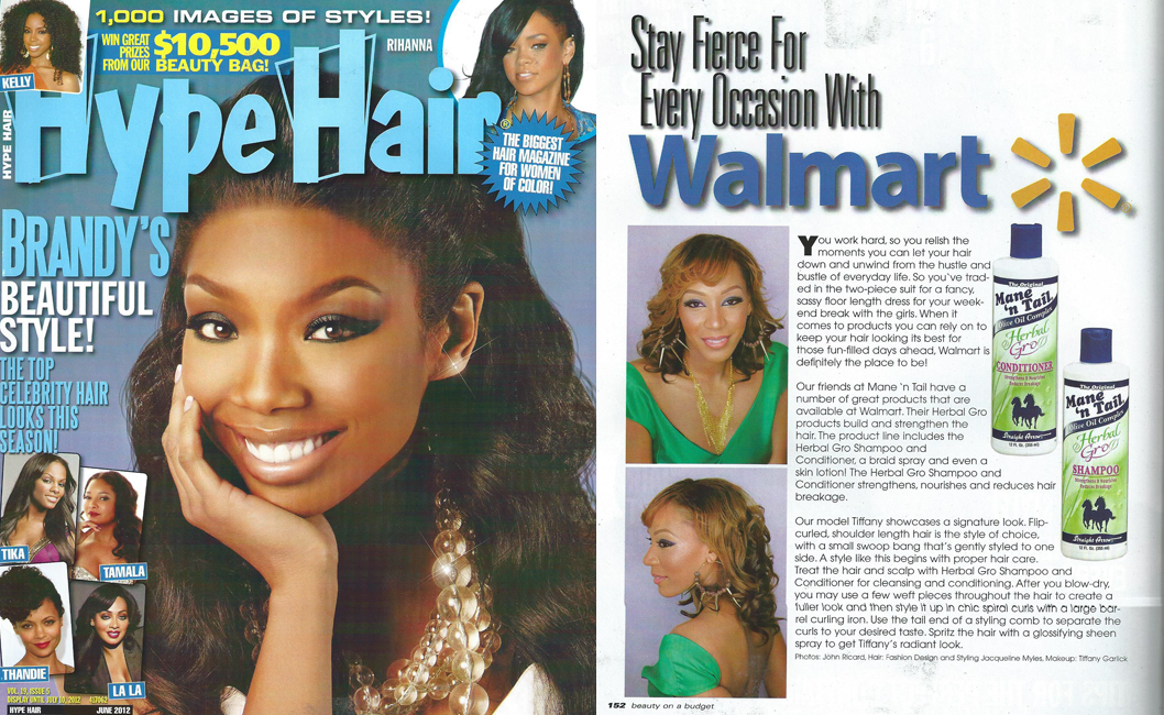 Hype Hair June 2012 Advertorial | The Original Mane \'n Tail ...