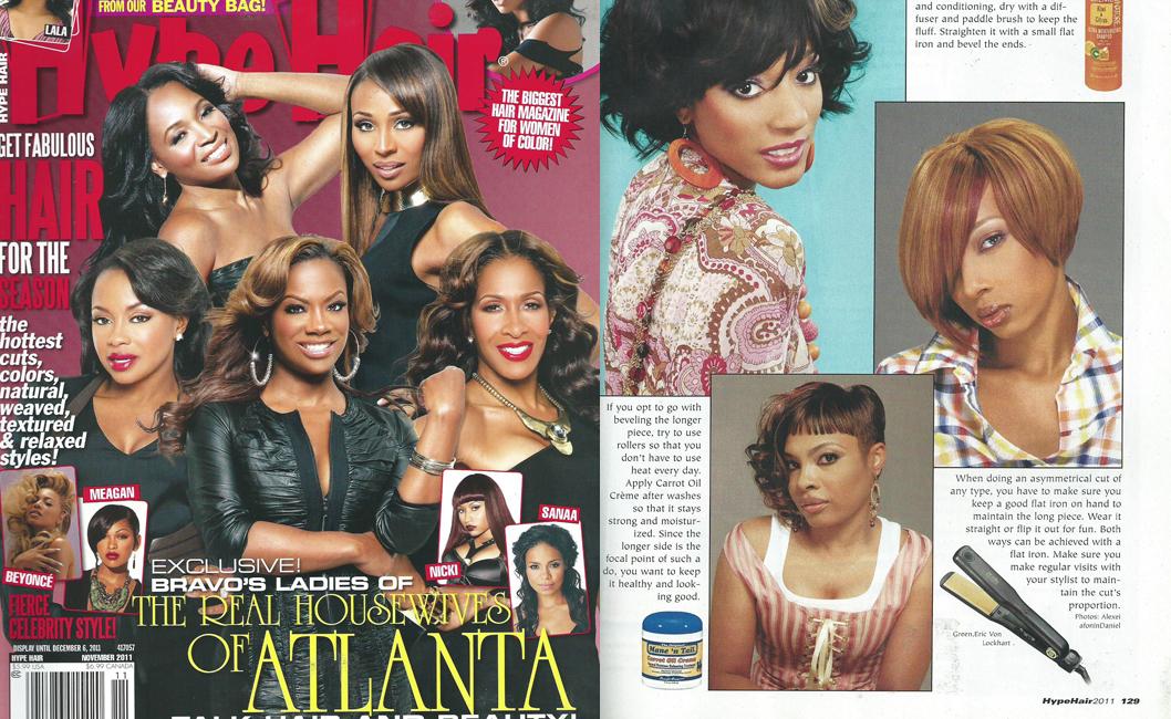 Hype Hair November 2011 Editorial | The Original Mane \'n ...