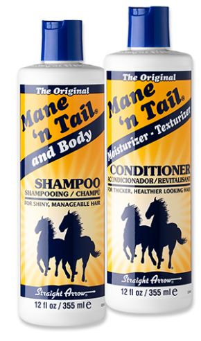 mane 'n tail original shampoo and conditioner bottles