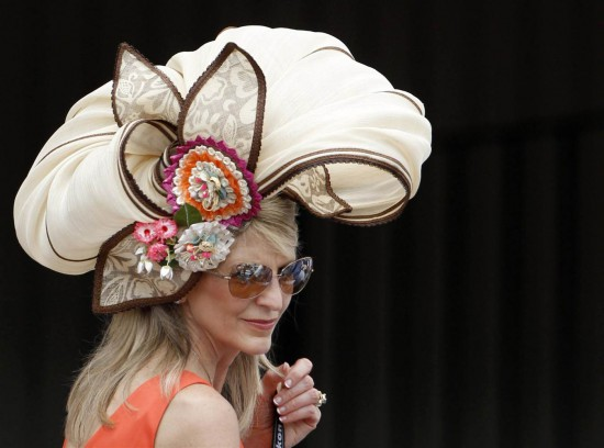 Kentucky Derby hat - floral