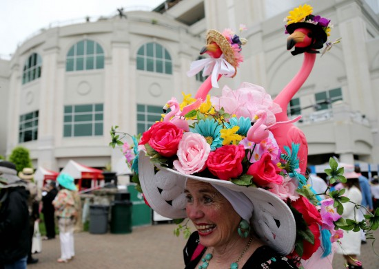 Kentucky Derby hat - hats on hats