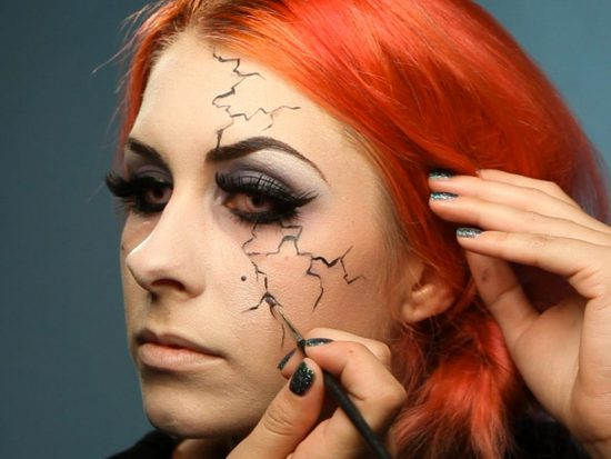 3d2a6f6a0 Easy Makeup for a Killer Halloween Look! - The Original Mane 'n Tail ...