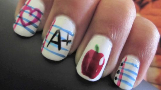 Amazing Back To School Nails The Original Mane N Tail Personal Care