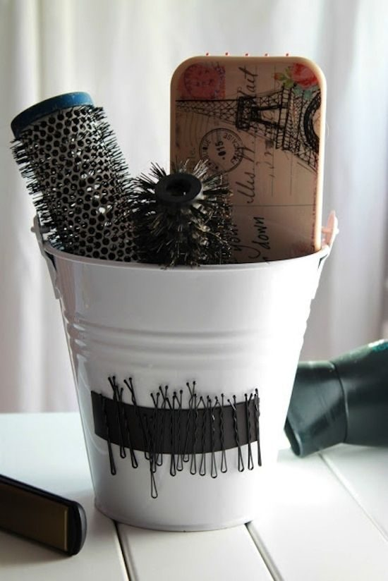 Organize bobby pins - cup