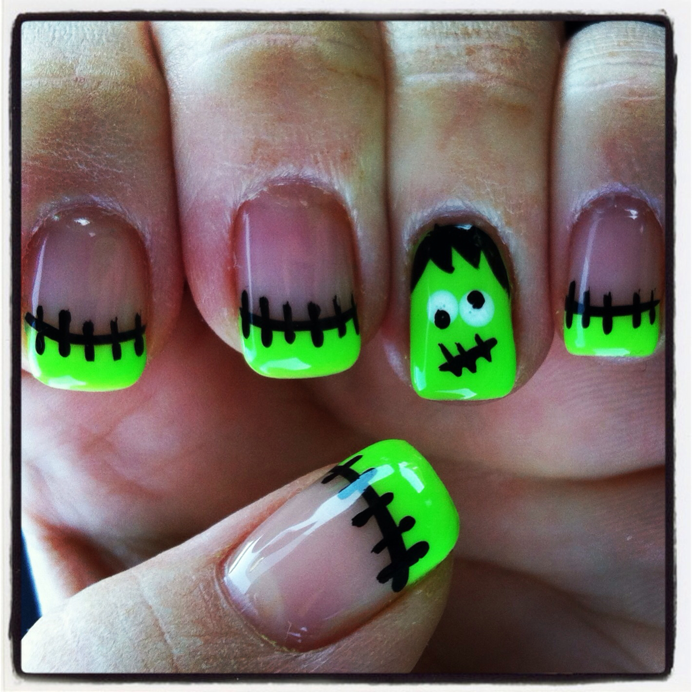 Easy Halloween Nail Designs For Short Nails