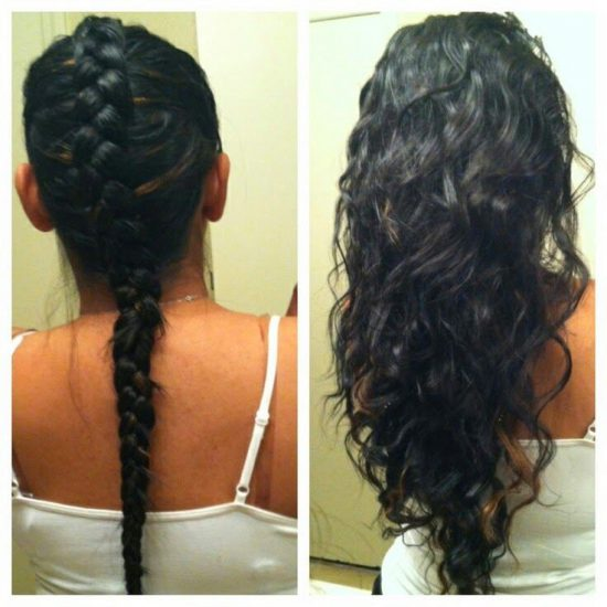 Easy Overnight Hairstyles The Original Mane N Tail