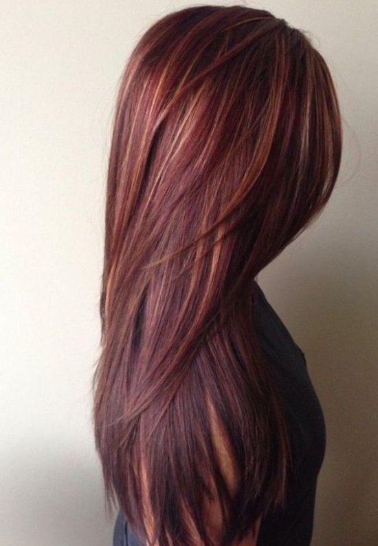 Summer and Autumn hair - chocolate