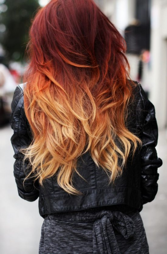 Summer and Autumn hair - ombre