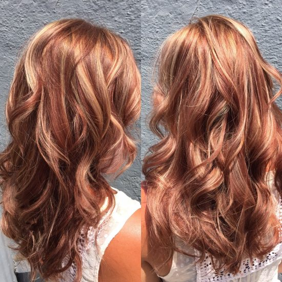 Summer And Autumn Hair Color Combos The Original Mane N
