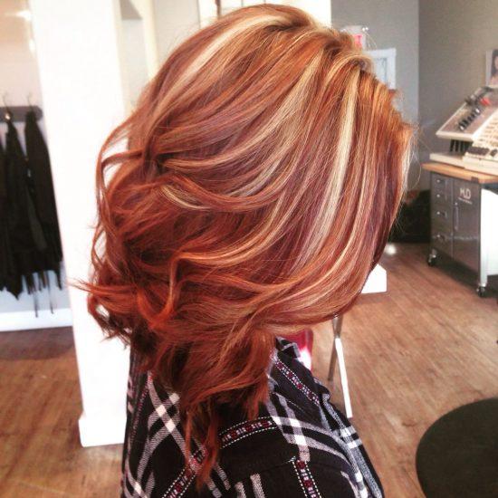 Summer and Autumn hair - blond