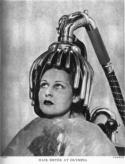 Crazy hair tools - chrome dryer