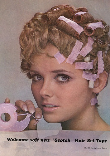 Crazy hair tools - Scotch tape